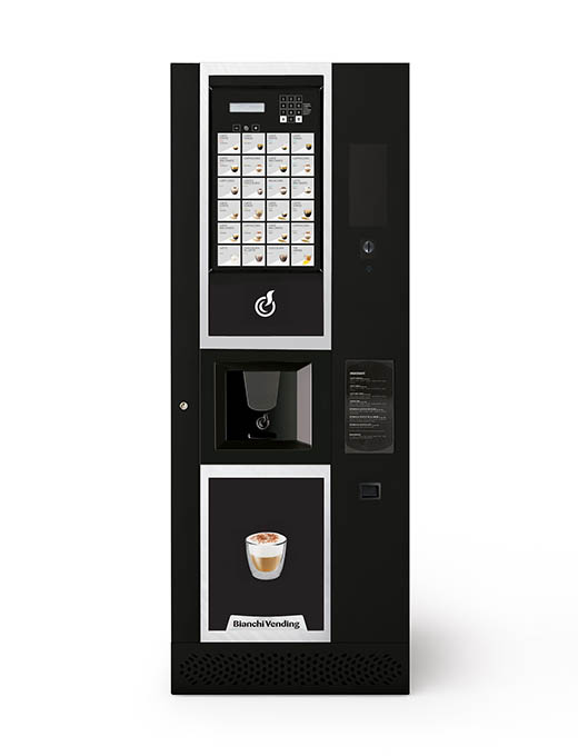 Menší automat na espresso aj instant