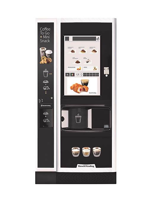 Prémiový automat na kávu